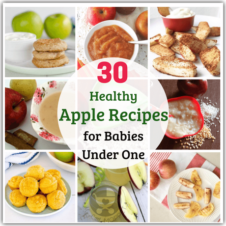 Babies can't munch on apples, but they can still enjoy the taste and health benefits with these healthy apple recipes for babies under one year of age.