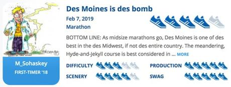 The 17th Des Moines Marathon [I-35 Challenge] (IA)