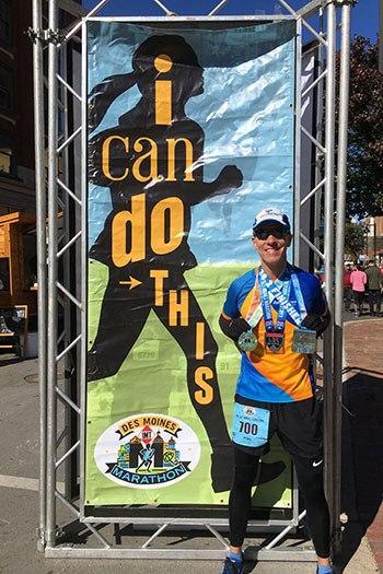 The 17th Des Moines Marathon [I-35 Challenge] (IA)