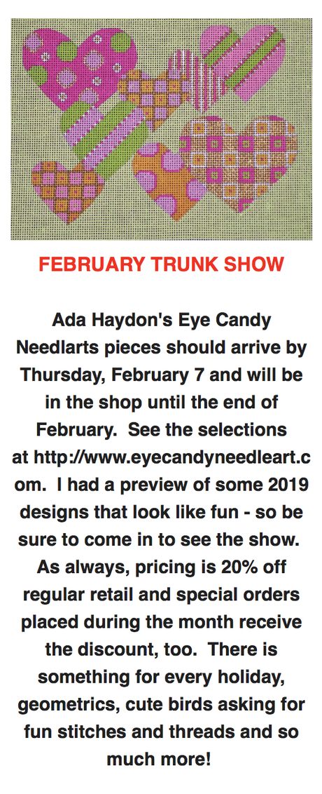 February Trunk Show at Threads in Charlottesville Virginia!