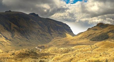 Andean Highlands in Ecuador