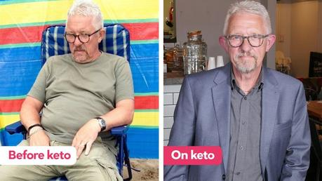 Graham went low-carb after 10 years of type 2 diabetes