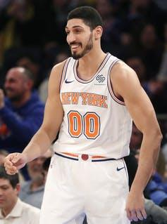 Turkish NBA star Enes Kanter curtails foreign travel for fear of kidnapping by the Turkish government.