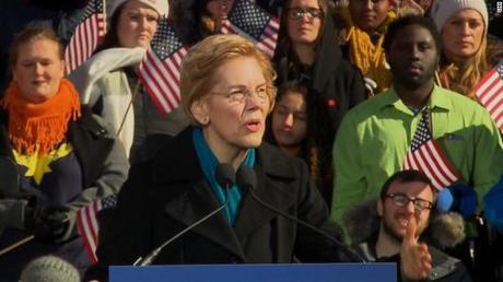 Elizabeth Warren Official Rollout Review