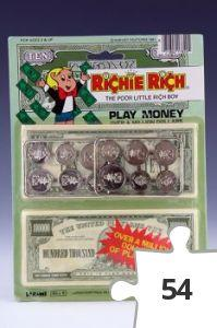 Jigsaw puzzle - Richie Rich Play Money