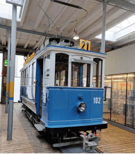 Tram Museum, Zurich: On a tram journey through time