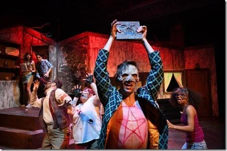 Review: Evil Dead the Musical (Black Button Eyes Productions)