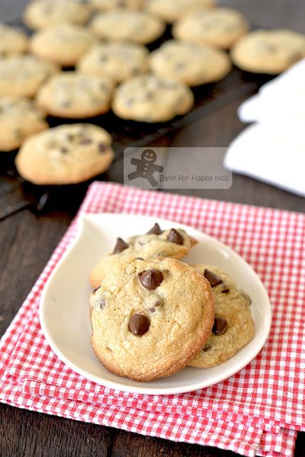 perfect chewy chocolate chip cookies