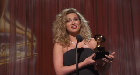 Tori Kelly Wins Best Gospel Song & Best Album At Grammys
