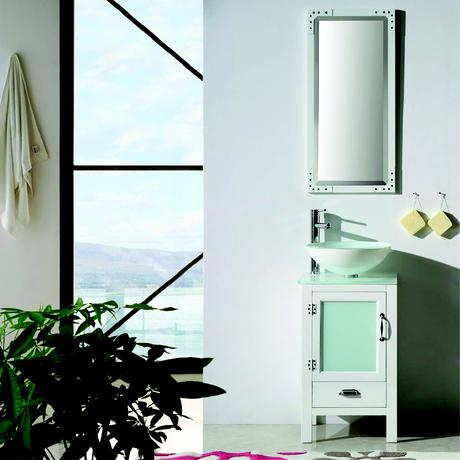 willowhills single vanity in white