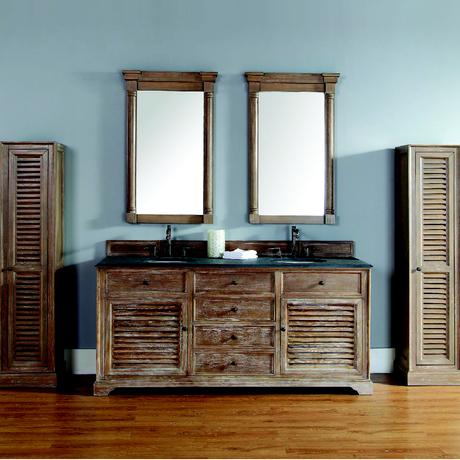 savannah double sink rustic farmhouse vanity