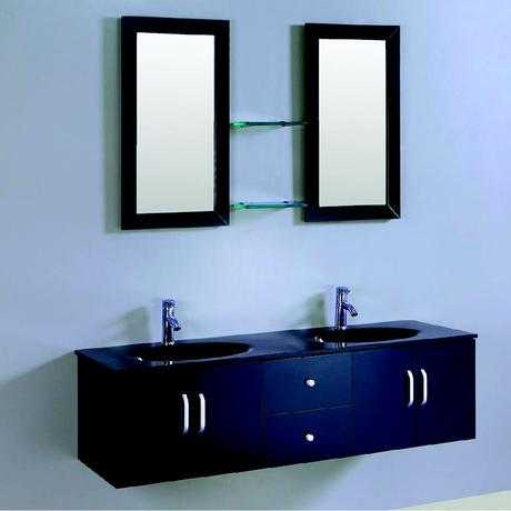 willowtree double sink floating vanity