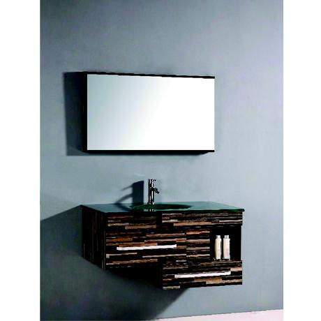 willowtree single floating wall mounted vanity
