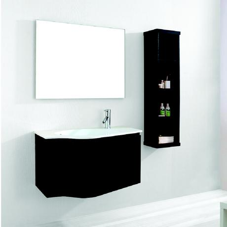 roselle single floating bathroom vanity