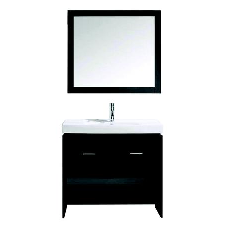 gloria single bathroom vanity in espresso