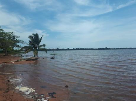 Backpacking in Togo: Crossing Lake Togo to Togoville