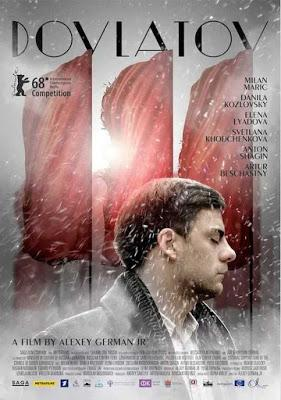 """234. Russian director Aleksei German, Jr.'s sixth feature film """"Dovlatov"""" (2018) (Russia):  A soulful reduction of the travails of a Russian writer of repute, intelligently collapsed into six interesting, representative days in 1971 of Brezhnev-era USS..."""