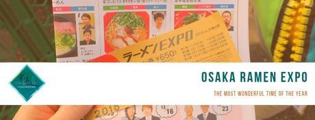 Osaka Ramen Expo - Cubicle Throwdown