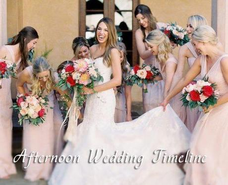 Ultimate Wedding Day Timeline For Great Party In 2019