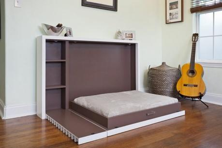 DIY Murphy Bed for Unique Bedroom