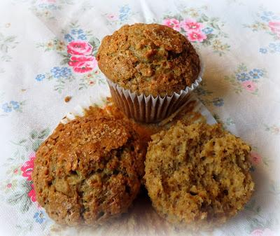 Small Batch Maple & Oatmeal Muffins