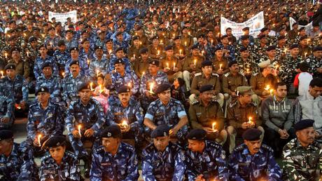 aftermath of #Pulwamatragedy ~ Nation shows it cares !!
