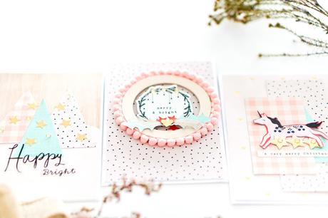 Maggie Holmes Design Team : Christmas Pastel Cards