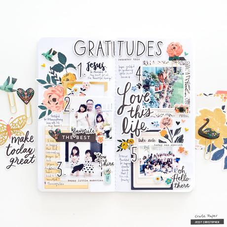 Crate Paper Design Team : Gratitudes Planner