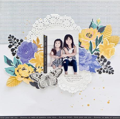 Maggie Holmes Creative Team : Forever Layout
