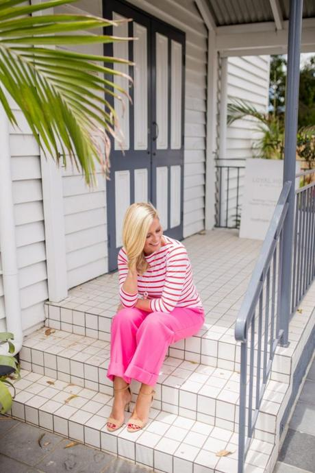 Red + Pink looks with Marks & Spencer