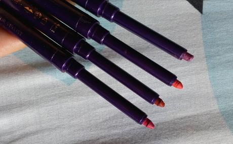 The One Color Stylist Lip liners Review + Swatches