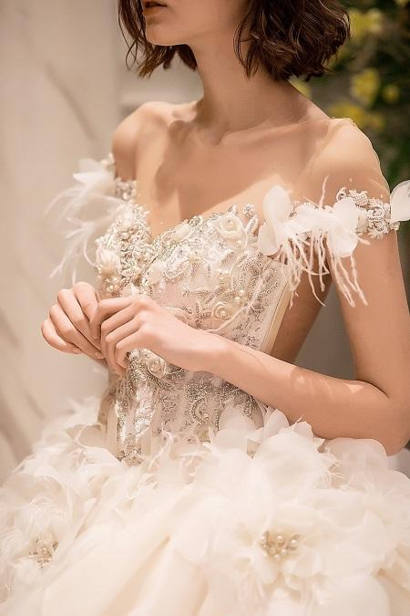Grace Kelly partners with Julia Kontogruni unparalleled wedding dress experiences to Asian brides