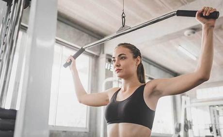 Standing Pulldown: For an Aesthetic V-Shaped Look