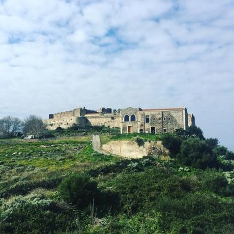 Spent the day on #Sicily exploring a #castle in #Milazzo. Even...