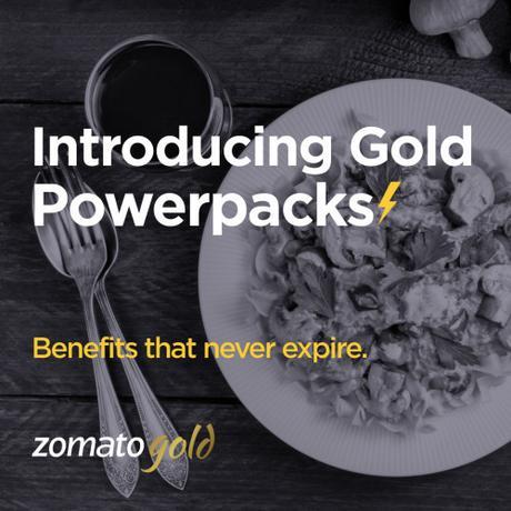 The Zomato Gold Powerpacks