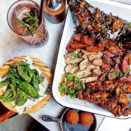 Eating Out || Weekend Feast @ Camino, Bankside