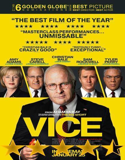 ABC Film Challenge – Oscar Nomination – V – Vice (2018)