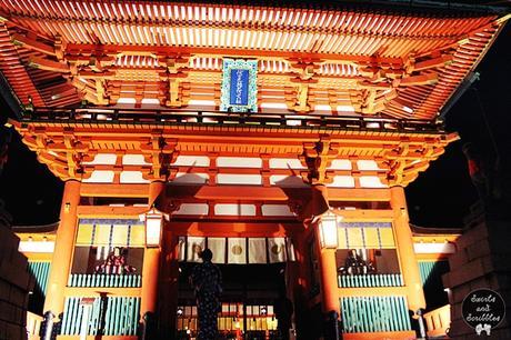Fushimi Inari-taisha at Night - Kyoto, Japan