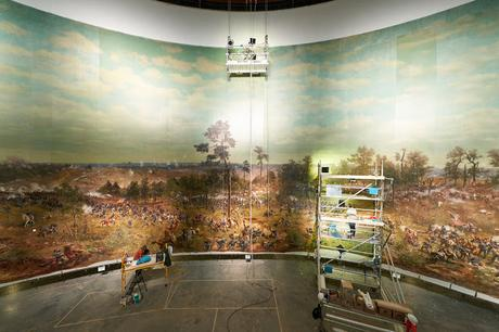 Atlanta History Center Unveils Restored 1886 Cyclorama Depicting 1864 Battle of Atlanta