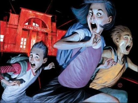 Extended First Look at R.L. Stine's Just Beyond: The Scare School OGN