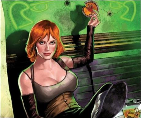 First Look at Firefly: Bad Company #1 – The Secret Origin of Saffron