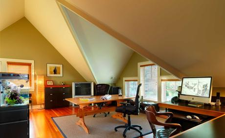 Bonus Room Office Ideas