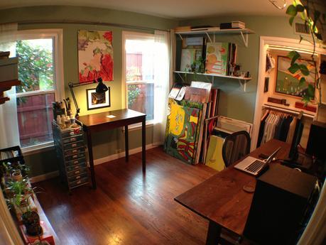 Art Studio Bonus Room Ideas