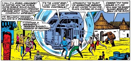 The Fantastic Four were amazed by the scientific ingenuity of Wakanda in 'Whosoever Finds The Evil Eye.' Fantastic Four #54