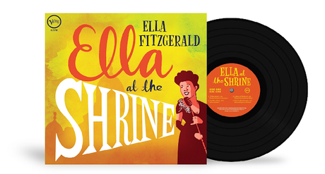 Unreleased for more than 60 years, Ella Fitzgerald's live concert from 1956, 'Ella At The Shrine,' is now widely available on vinyl via Verve/UMe