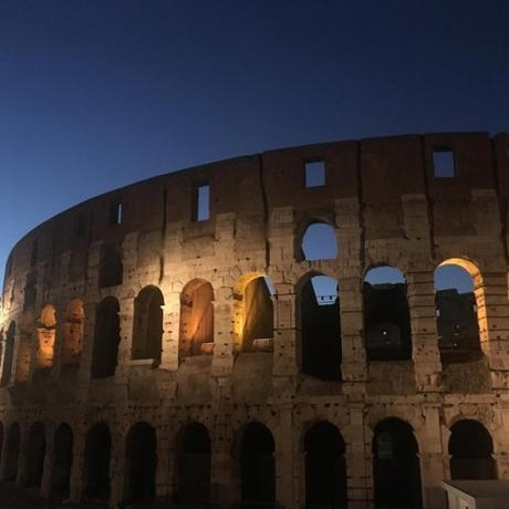 Day 8 was filled with a train ride into #Rome from the port and...