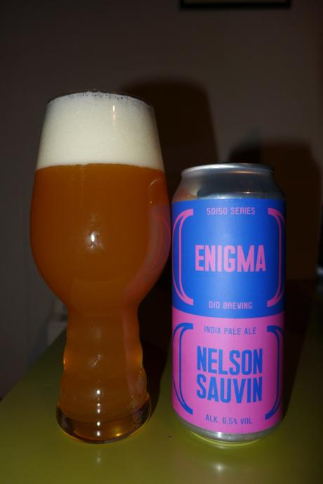 Tasing Notes: O/O: 50/50 Enigma- Nelson Sauvin