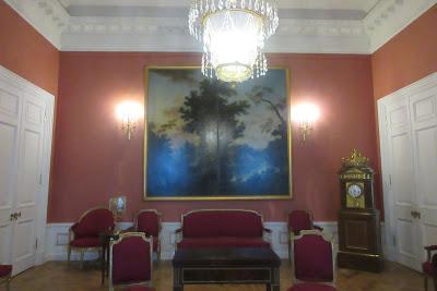 Inside Pavlovsk Palace in Saint Petersburg