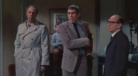 James Coburn's Corduroy Suit in Charade