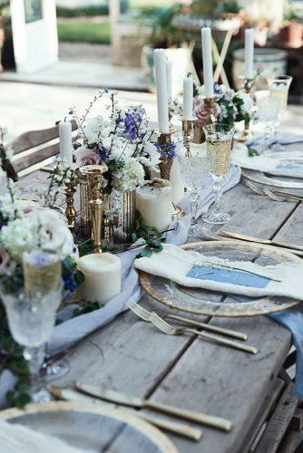 park wedding tender table decor Salsabil Morrison Photography